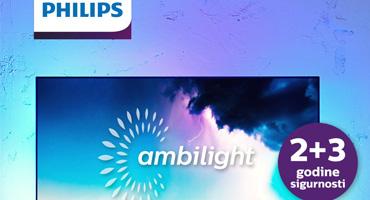Philips daje produljeno jamstvo za svoje Ambilight televizore